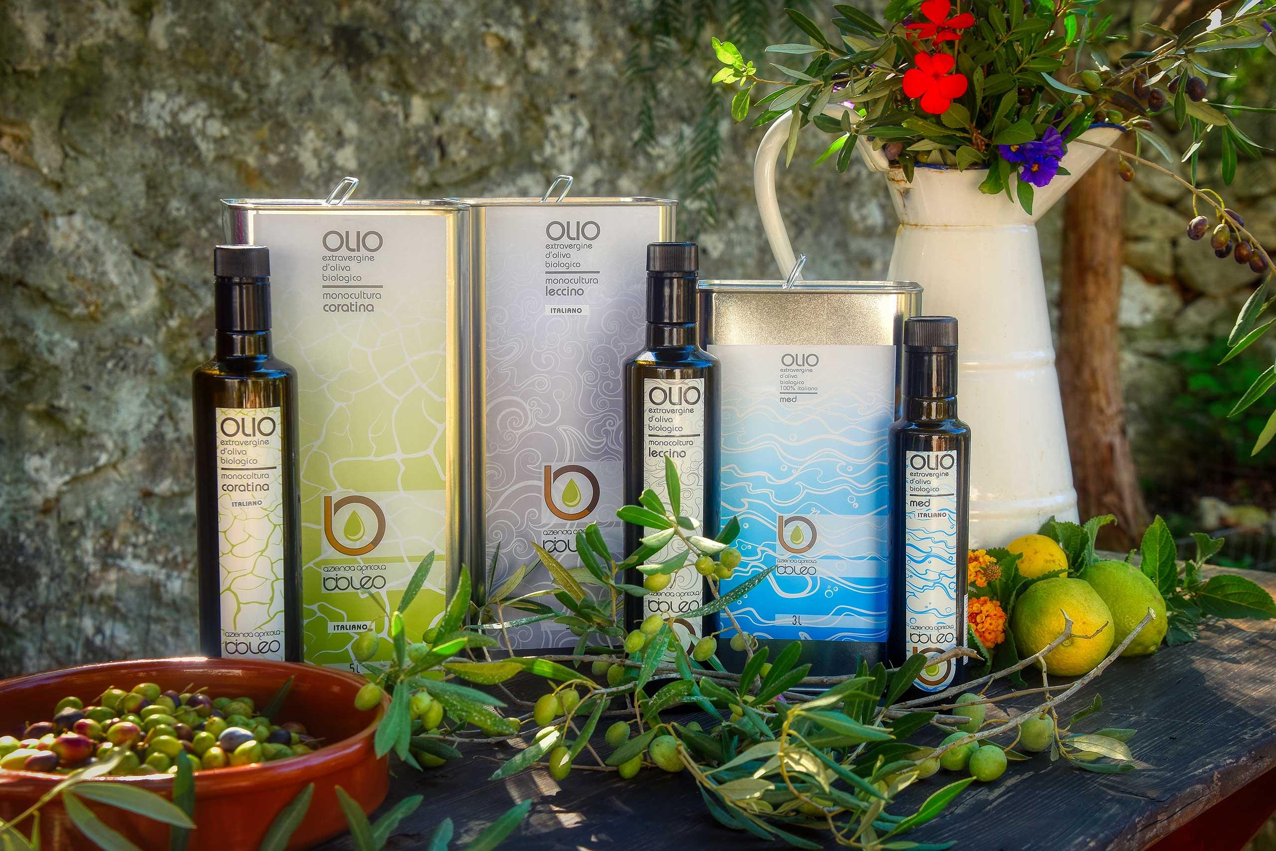 Azienda Agricola Bioleo - Olio extra vergine di oliva biologico